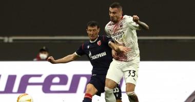 Милан - Црвена Звезда 1:1 видео голов и обзор матча Лиги Европы
