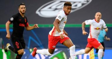 Лейпциг - Атлетико 2:1 видео голов и обзор матча Лиги чемпионов