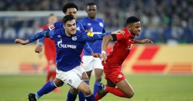 Шальке - Лейпциг 0:5 видео голов и обзор матча чемпионата Германии