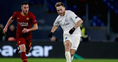 Рома - Гент 1:0 видео гола и обзор матча Лиги Европы