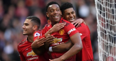 ПСЖ - Манчестер Юнайтед 1:2 видео голов и обзор матча Лиги чемпионов