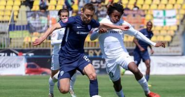 Минай — Ворскла 1:2 видео голов и обзор матча чемпионата Украины