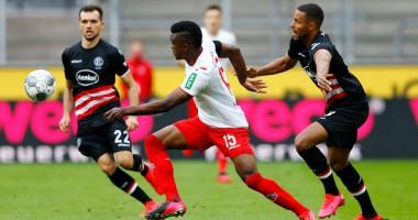 Кельн - Фортуна 2:2 видео голов и обзор матча чемпионата Германии