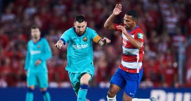 Гранада - Барселона 2:0 видео голов и обзор матча Ла Лиги