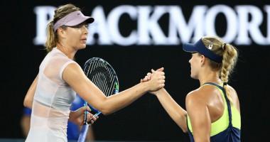 Кербер – Шарапова: обзор матча Australian Open