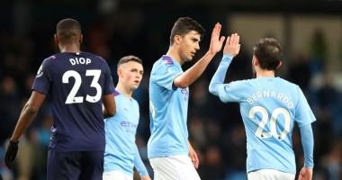 Манчестер Сити - Вест Хэм 2:0 видео голов и обзор матча АПЛ