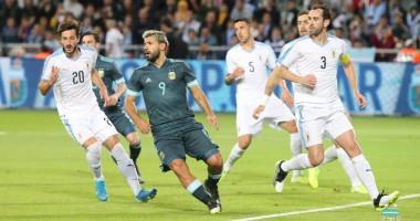 Аргентина - Уругвай 2:2 видео голов и обзор товарищеского матча