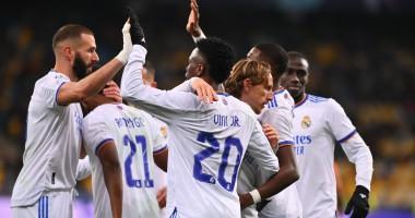 Шахтер — Реал Мадрид 0:5: видео голов и обзор матча