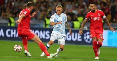 Динамо — Бенфика 0:0 видеообзор матча группового этапа Лиги чемпионов