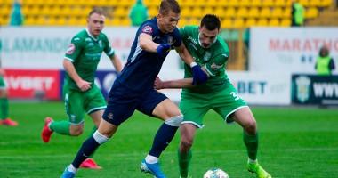 Карпаты - Днепр-1 1:1 Видео голов и обзор матча УПЛ