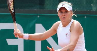 Екатерина Козлова — Александра Соснович: видеообзор матча турнира WTA в Польше