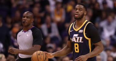 Красивый обманный маневр Мудиая и данк Адетокунбо - среди лучших моментов дня в НБА