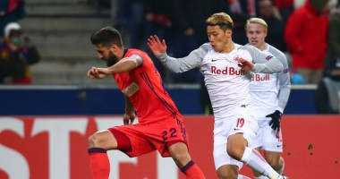РБ Зальцбург – Реал Сосьедад 2:1 видео голов и обзор матча Лиги Европы