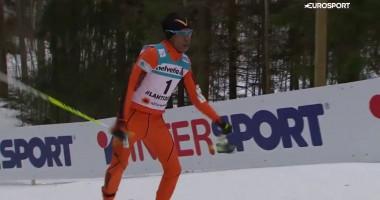 Венесуэльский лыжник взорвал интернет своим выступлением на чемпионате мира