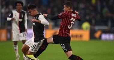 Ювентус  - Милан 1:0 видео гола и обзор матча Серии А