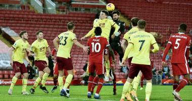 Ливерпуль - Бернли 0:1 видео гола и обзор матча АПЛ