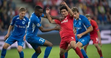 Ред Булл Зальцбург - Генк 6:2 видео голов и обзор матча Лиги чемпионов