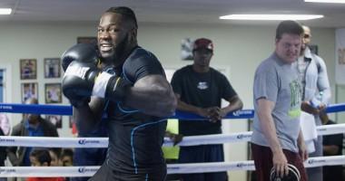 Уайлдер - Вашингтон: Фото с открытой тренировки боксеров