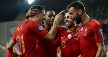 Люксембург - Португалия 0:2 видео голов и обзор матча отбора на Евро-2020