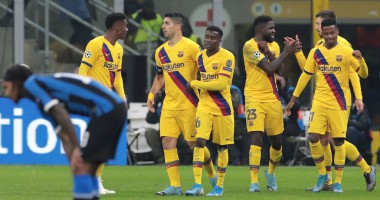 Интер - Барселона 1:2 видео голов и обзор матча Лиги чемпионов