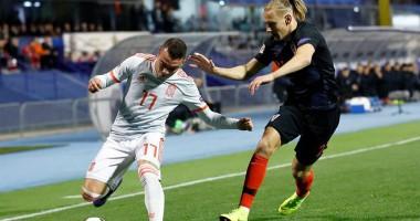 Хорватия - Испания 3:2 видео голов и обзор матча Лиги наций
