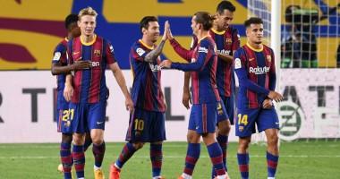 Барселона - Ференцварош 5:1 видео голов и обзор матча Лиги чемпионов
