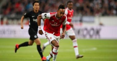 Айнтрахт - Арсенал 0:3 видео голов и обзор матча Лиги Европы