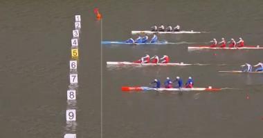 Видео финала чемпионата мира среди мужских каноэ-четверок