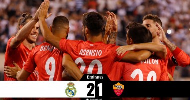 Реал - Рома 2:1 видео голов и обзор матча