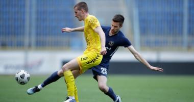Днепр-1 — Рух 1:1 видео голов и обзор матча чемпионата Украины