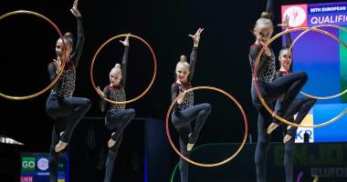 ЧЕ по художественной гимнастике: историческое серебро украинских юниорок