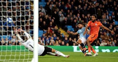 Манчестер Сити – Лион 1:2 видео голов и обзор матча Лиги чемпионов
