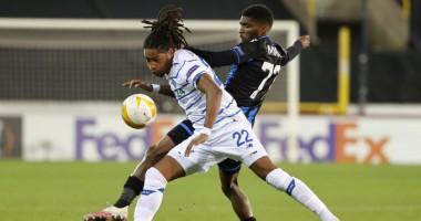 Брюгге - Динамо 0:1 видео гола и обзор матча Лиги Европы