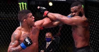 Вудли - Бернс: видео боя на UFC On ESPN 9
