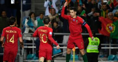 Португалия - Литва 6:0 видео голов и обзор матча отбора на Евро-2020