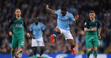 Манчестер Сити - Тоттенхэм 4:3 видео голов и обзор матча Лиги чемпионов