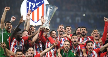 Лига Европы: видео церемонии награждения Атлетико