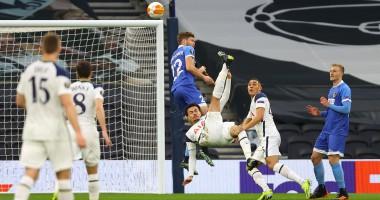 Гол Алли в матче Лиги Европы Тоттенхэм — Вольфсбергер