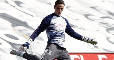"""""""Огонь"""": Лунин проявил себя на тренировке Реала"""