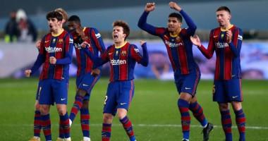 Реал Сосьедад - Барселона 1:1 (пен. 2:3) видео голов и обзор полуфинала Суперкубка Испании