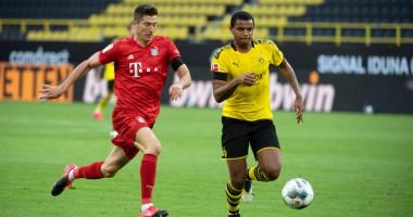 Боруссия Д - Бавария 0:1 видео гола и обзор матча чемпионата Германии