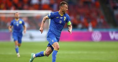 Мастерский гол Ярмоленко в матче сборных Украины и Нидерландов
