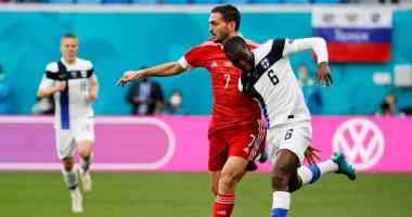 Финляндия - Россия 0:1 Видео гола и обзор матча Евро-2020