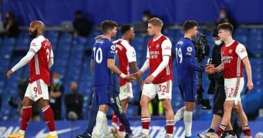 Челси - Арсенал 0:1 видео гола и обзор матча АПЛ