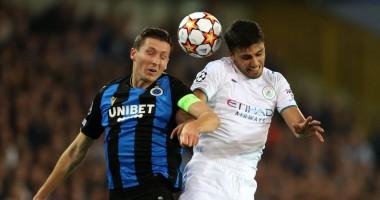 Брюгге — Манчестер Сити 1:5 Видео голов и обзор матча