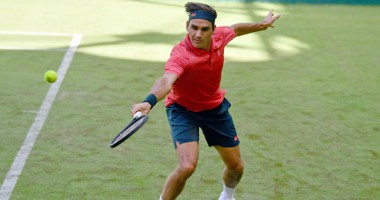 Роджер Федерер — Илья Ивашко: видеообзор матча Noventi Open