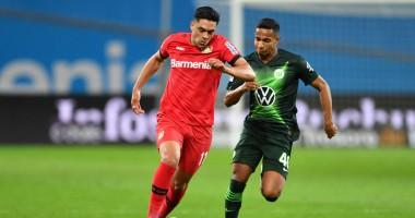 Байер - Вольфсбург 1:4 видео голов и обзор матча Бундеслиги