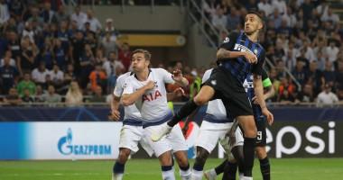 Интер - Тоттенхэм 2:1 видео голов и обзор матча Лиги чемпионов