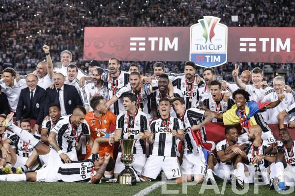 Ювентус обладатель Кубка Италии