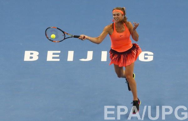 Свитолина в 2-х сетах обыграла Гаврилову вчетвертьфинале турнира встолице Китая